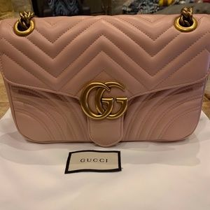 Gucci Marmont Small bag Pink